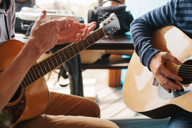 Guitar Lessons to make money as a musician during lockdown